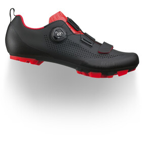 Fizik Terra X5 MTB Shoes Men black/red